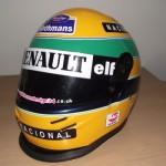 Helmets Replicas-Senna