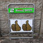 Motorsport Bikes-Rhys Coates Pit Board 2019 02