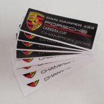 Motorsport Cars-Dan Harper Porsche Stickers