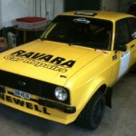 Motorsport Rally-Newell Escort 2015