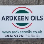 Signs-Ardkeen Oils Sign July 2019 01
