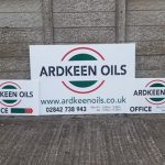 Signs-Ardkeen Oils Sign July 2019 03