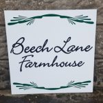 Signs-Beech Lane Farmhouse Sign 2019 01