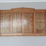 Signs-Donaghdee GC Captains Board 2021 02