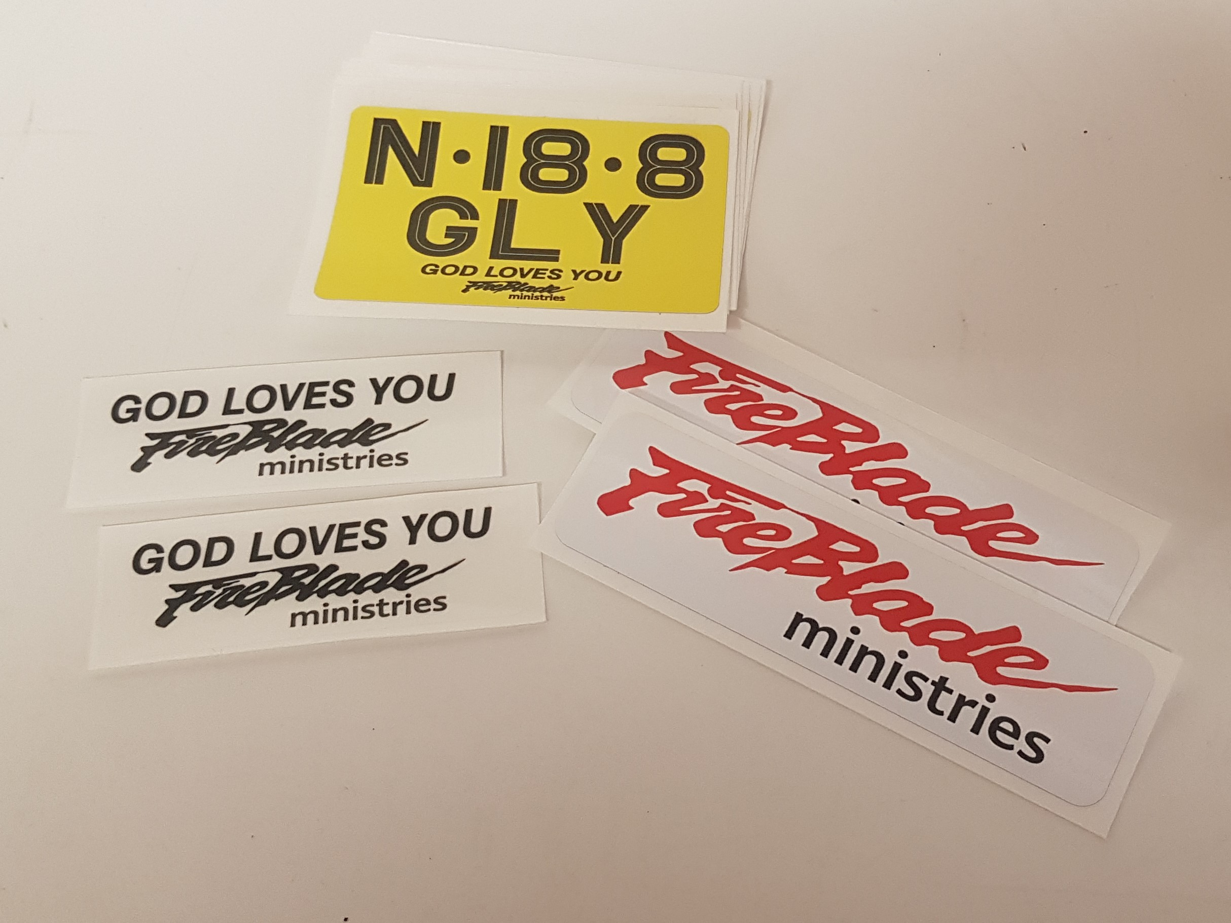 Signs-Fireblade Ministries Stickers 2019 01