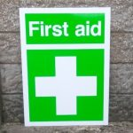 Signs-Kirkistown Ambulance First Aid Sign