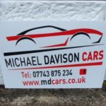 Signs-Michael Davison Cars 2020 01