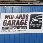 Signs-Mid Ards Garage Sign 2019 02