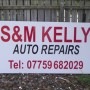 Signs-S&M Kelly Auto Repairs 01