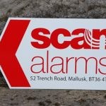 Signs-Scan Alarms Road Sign 2018 01