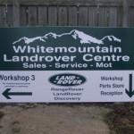 Signs-Whitemoutain LRC Sign 01