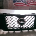 Vehicle Wraps-Hurst Nissan Grill