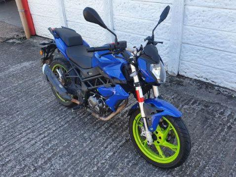 Vehicles Bikes-Liam Benilli 125 2021 01