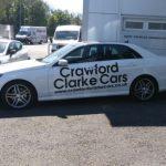 Vehicles Cars-Crawford Clarke Mercedes (white) May 2017 01