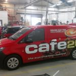 Vehicles Vans-Cafe 2U