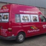 Vehicles Vans-Flavour First Transporter