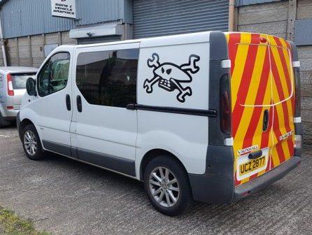 Vehicles Vans-Robert Carter Traffic 2018