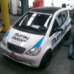 Vehicles Wraps-Mercedes A Class Roof