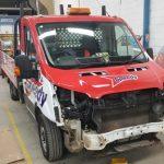Vehicles Wraps-TK Motors Speedy Hire Bonnet
