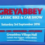 Signs-Greyabbey Bike Show Sign 2016